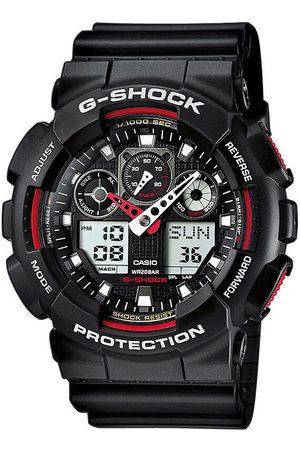 Casio Reloj analógico GA-100-1A4ER, Quartz, 51mm, 20ATM para hombre