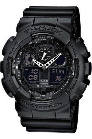 Casio Reloj analógico GA-100-1A1ER, Quartz, 51mm, 20ATM para hombre