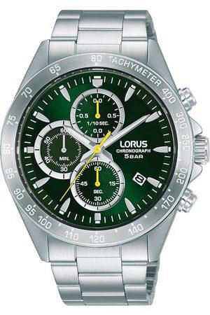 Lorus Reloj analógico RM367GX9, Quartz, 43mm, 5ATM para hombre