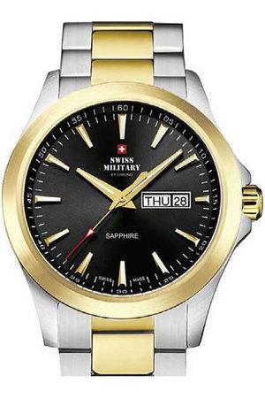CHRONO Reloj analógico Swiss Military SMP36040.27, Quartz, 42mm, 5ATM para hombre