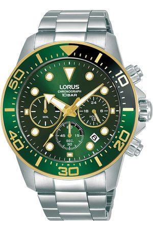 Lorus Reloj analógico RT340JX9, Quartz, 43mm, 10ATM para hombre