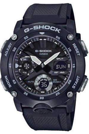 Casio Reloj analógico GA-2000S-1AER, Quartz, 46mm, 20ATM para hombre
