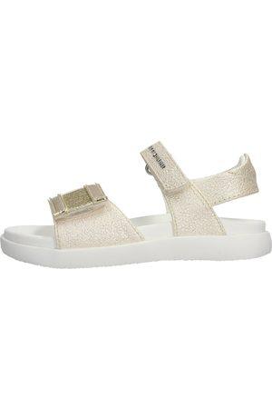 Tommy Hilfiger Niña Sandalias - Sandalias - Sandalo platino T1A2-31035 para niña