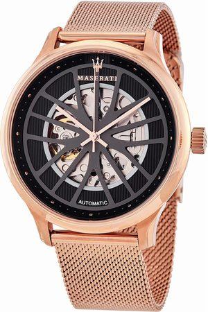 Maserati Hombre Relojes - Reloj analógico R8823136001, Automatic, 43mm, 10ATM para hombre
