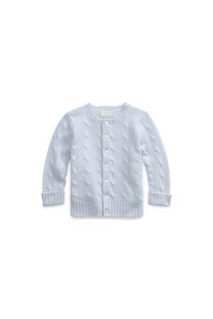 Ralph Lauren Bebé Chaqueta de punto - Cable-Knit Cashmere Cardigan