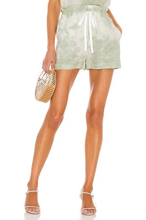 Bella Dahl Mujer Casual - Paper bag pocket short en color verde talla L en - Green. Talla L (también en S, XS, M).