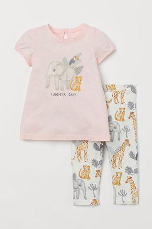 H&M Niña Conjuntos de ropa - Conjunto estampado de 2 piezas
