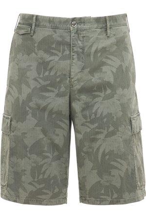 Pantaloni Torino Hombre Pantalones cortos -   Hombre Shorts De Algodón Stretch Con Estampado Camuflaje 33