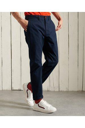 Superdry Hombre Pantalones chinos - Pantalones chinos ajustados Core