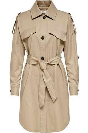 Only Mujer Gabardinas - SOLID COLORED TRENCHCOAT
