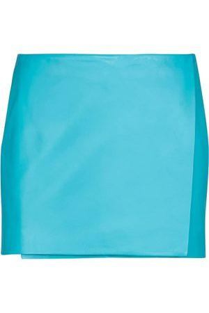 DODO BAR OR Minifalda de piel