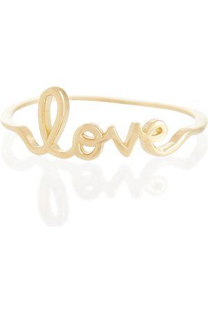 Sydney Evan Anillo Love de oro de 14 ct