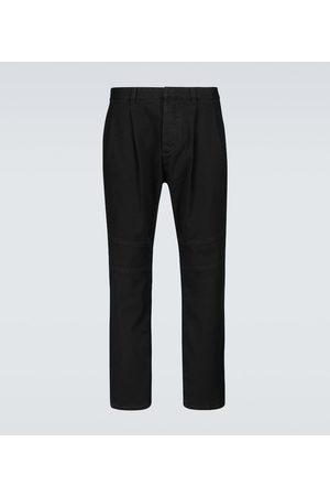 Balmain Pantalones chinos de algodón