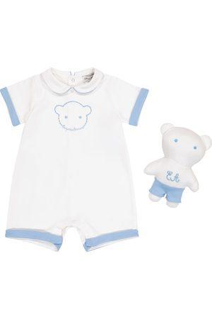 Emporio Armani Bebé - set de body y peluche
