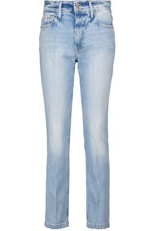 Frame Jeans ajustados Le Sylvie de tiro alto