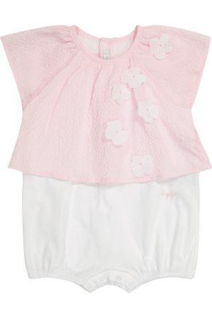 Il gufo Bebé – pelele de algodón elastizado