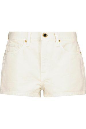 Khaite Mujer Vaqueros - Shorts Charlotte de jeans