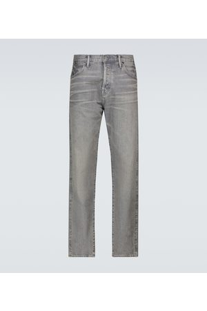 Tom Ford Jeans de ajuste tapered con orillos