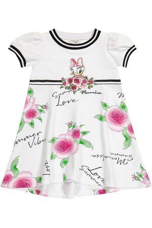 MONNALISA X Disney® vestido mezcla de algodón