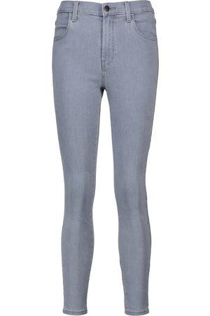 J Brand Jeans Alana cropped de tiro alto