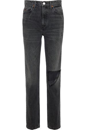 RE/DONE Jeans ajustados 70s de tiro medio