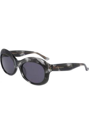 Donna Karan Mujer Gafas de sol - DO506S 039 Black Grey Horn