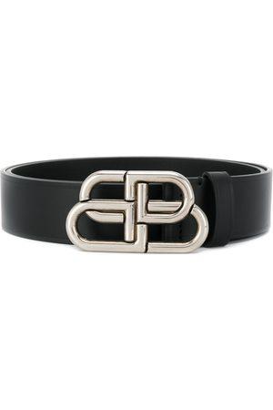 Balenciaga Cinturón con plaga de logo BB