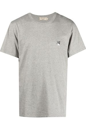 Maison Kitsuné Hombre Sin mangas - Camiseta con aplique Fox