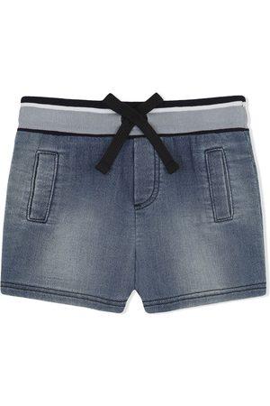 Dolce & Gabbana Pantalones vaqueros cortos con parche del logo