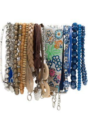 AMIR SLAMA Conjunto de pulseras con adornos