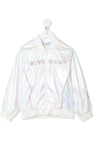 Givenchy Chaqueta bomber con logo bordado