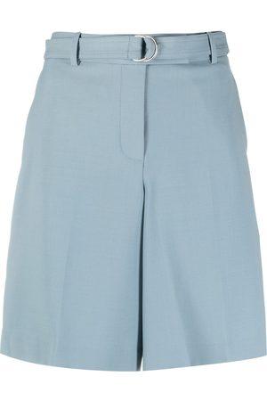 Helmut Lang Pantalones cortos anchos con cinturón