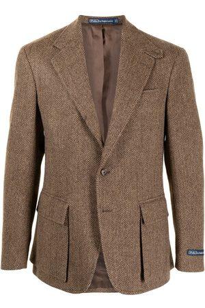 Polo Ralph Lauren Abrigo deportivo con estampado de espiga