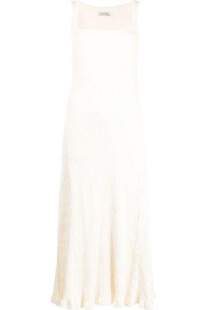 Anna Quan Vestido Dido de punto de canalé