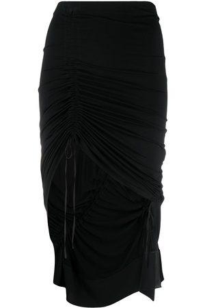 Nº21 Minifalda fruncida con cordones