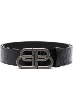 Balenciaga Cinturón con hebilla del logo BB