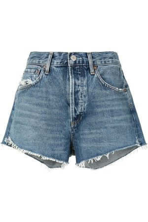 AGOLDE Pantalones vaqueros cortos de talle alto