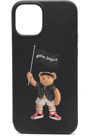 Palm Angels Funda con motivo de oso pirata para iPhone 12