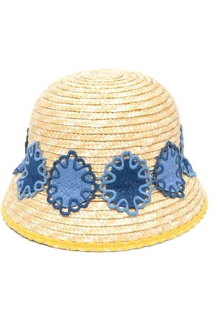 Mimisol Sombrero de paja bordado