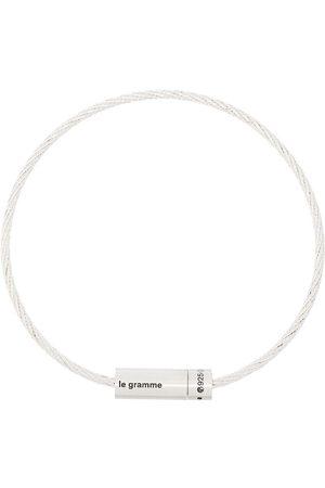 Le Gramme Pulsera con cable