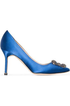 Manolo Blahnik Zapatos de tacón Hangisi 90