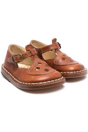 PèPè Cut-out leather sandals