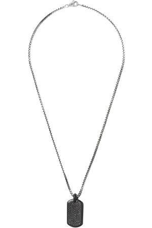 David Yurman Placa con diamantes en pavé