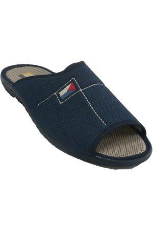 Aguas Nuevas Pantuflas Zapatillas hombre abiertas punta talón para hombre