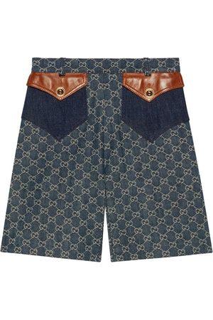 Gucci Pantalones vaqueros cortos con lavado ecológico