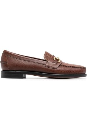 SEBAGO Joe snakeskin-effect loafers