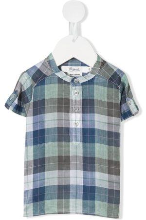 BONPOINT Plaid-check shirt