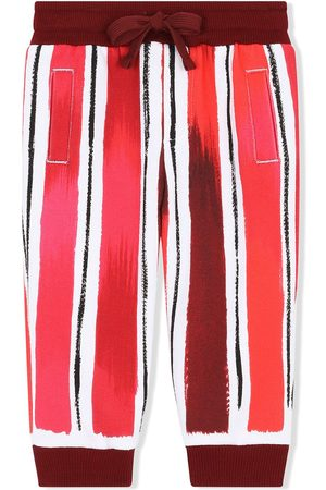 Dolce & Gabbana Pantalones de chándal con rayas