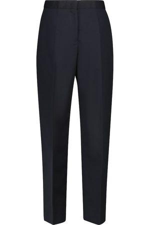 Jil Sander Pantalones plisados de tiro alto