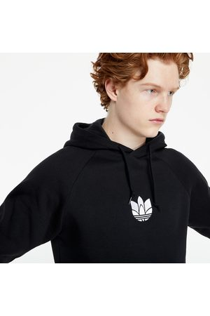 adidas Adidas Loungewear Adicolor 3D Trefoil Graphic Hoodie Black